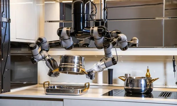 'Like all breakthrough technologies it will appeal to enthusiasts, professionals and early adopters, and is priced accordingly,' says the kitchen's developer Mark Oleynik. Photograph: Bircan Tulga/Black Edge Productions